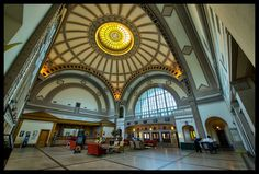 The Lobby of the Chattanooga Choo Choo Hotel