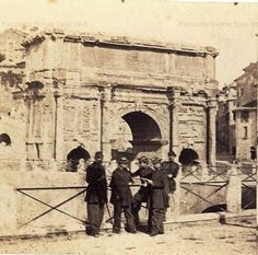 Arco di Settimio Severo Anno: 1878