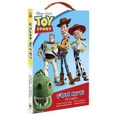 Toy Story Fun Kit (Disney/Pixar Toy Story)  Walmart.com Toy Story 4 Cast, Toy Story 3 Movie, Toy Story 1995, 2 Movie, Bo Peep Toy Story, Jessie Toy Story, Transformers 4, Movie Collection, Designer Toys