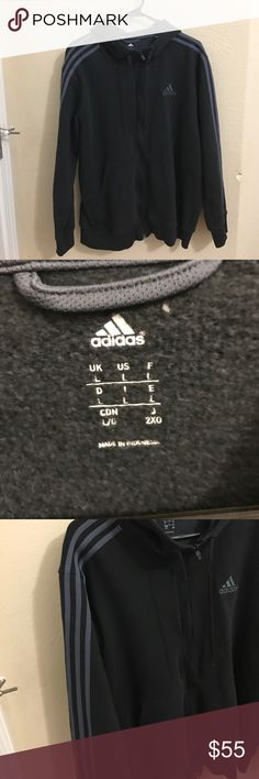 Men's adidas jacket Thick material like new condition size L Adidas Jackets & Coats