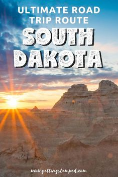 South Dakota is so much more than just a day trip. Head off on a 3 day South Dakota road trip to see some of the highlights: the Badlands, Mount Rushmore Mount Rushmore, South Dakota Travel, Spearfish Canyon, Us Destinations, Roadtrip, Rapid City, Vacation Trips, Family Vacations, Adventure Travel