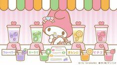 Kawaii Cute, Kawaii Stuff, My Melody Wallpaper, Sanrio Characters, Fictional Characters, Cute Poster, Little Twin Stars, Artist Names, Cute Wallpapers