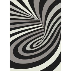 Greyscale Psychedelic Starlite Turkish Area Rug (8' x 11') - Overstock™ Shopping - Great Deals on 7x9 - 10x14 Rugs