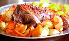 Roast Lamb and Gravy - Julie Goodwin recipe