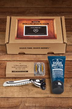 Give the gift of Dollar Shave Club membership. Members get world class razors delivered every month. Gift the Club.