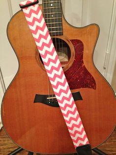 Chevron guitar strap it need it in tangerine to match my danelectro!