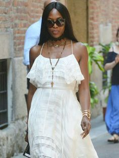See Naomi Campbell's Sweet Tribute to the Passing of Saint Laurent's Co-Founder