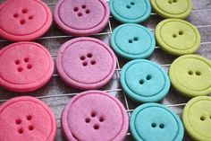 recept na krásné cukroví pečené knoflíky