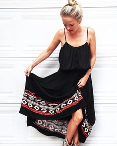 omg-uacho. this boho beauty is beyond badass. this gorge gaucho maxi skirt is a fall #musthave. handcrafted by artisans from indigenous communities, the detailing and craftsmanship is truly exceptiona