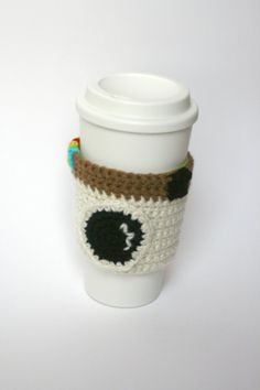 Instagram inspired coffee cozy coffee sleeve.