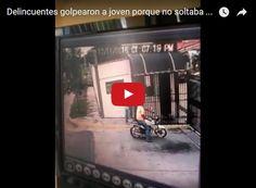 Así le quitaron el celular a una jovencita Este nuevo asalto se produjo este 12 de noviembre cuando una jovencita llegaba a su casa y al notar que era perseguida por dos motorizados gritó... http://www.facebook.com/pages/p/584631925064466
