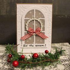Купить Открытка Чудесный Сезон - комбинированный, Новый Год, рождество, Открытка ручной работы