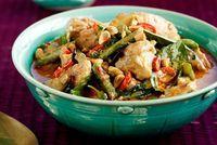 Curry thaï au poulet