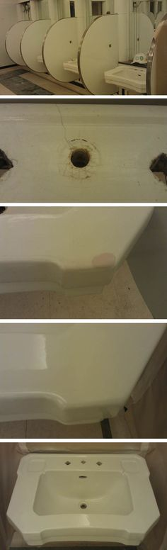 8 best Damaged basin and sink repair images on Pinterest | Basin ...