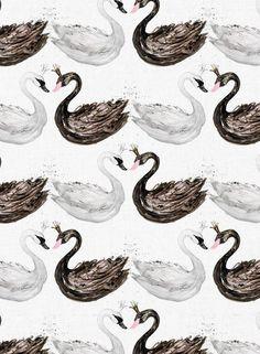 Swan baby blanket Swan nursery Swan baby shower girl gift