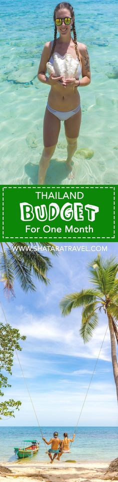 Thailand Budget: Exactly what we spent during one month in Thailand.