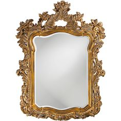 Howard Elliott Ornate Turner Wall Mirror | Wayfair ($438) ❤ liked on Polyvore featuring home, home decor, mirrors, howard elliott, standing wall mirror, wall mounted mirror, home wall decor and howard elliott mirror
