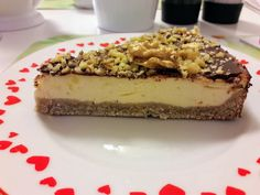 Cheesecakes, Vegan Gluten Free, Deserts, Food And Drink, Low Carb, Sweets, Healthy Recipes, Cooking, Ethnic Recipes