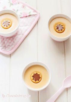 Natillas de #chocolate golden con #Thermomix