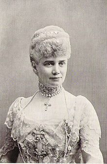 Thyra of Denmark (1853 - 1933). Daughter of Christian IX and Louise of Hesse-Kassel. She married Ernest Augustus, Crown Prince of Hanover, and had six children.