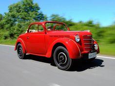 "1938 Opel Kadett Cabrio ""Strolch"" Prototype"