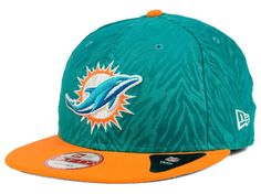 huge selection of e4fd2 7fa50 Miami Dolphins NFL Hometown Series Miami 9FIFTY Snapback Cap Hats Miami  Dolphins Hat, Snapback Cap