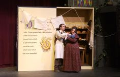 The Theatrical Designs of Gary Benson: Into the Woods--Scene Design