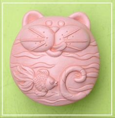 Cat like Fish 50293 Craft Art Silicone Soap mold Craft Molds DIY Handmade soap molds Longzang http://www.amazon.com/dp/B009PMCSC2/ref=cm_sw_r_pi_dp_JXcHwb0GYCX8Q