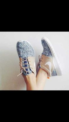 floral and grey #nike