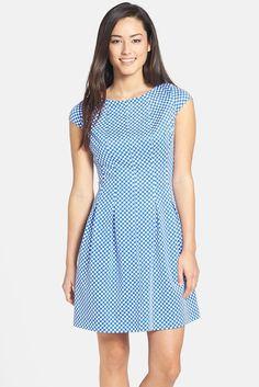 RepliKate for Jenny Packham conflower blue polka dot dress $19.80