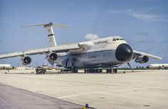 Lockheed C-5A Galaxy.. Grew up hearing these land and take-off when we lived on base. Would love to hear / feel that again.