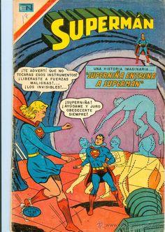 Lote de 100 números de Supermán Novaro Serie Avestruz (1975 - 1984) (o por números sueltos)