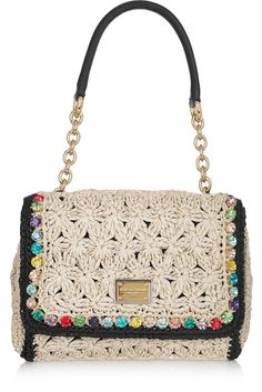 Olgaknits. Lavoro a maglia e uncinetto: Borse da Dolce & Gabbana - Primavera Estate 2012!
