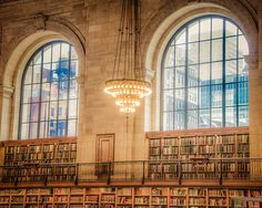 NYC library photograph  New York City library by robertcrum, $30.00