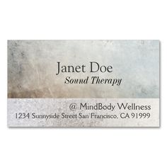 Massage Therapy Healing Arts Business Card. This is a fully customizable business card and available on several paper types for your needs. You can upload your own image or use the image as is. Just click this template to get started!