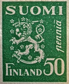#Finland Stamp - Circa 1931 #Photograph  ~ http://fineartamerica.com/featured/finland-stamp-circa-1931-bill-owen.html?viewall=true# :D