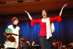 """Here's a photo from the Free Family Concert in 2010 featuring the piece """"Green Eggs and Ham"""" composed by Rob Kapilow."""