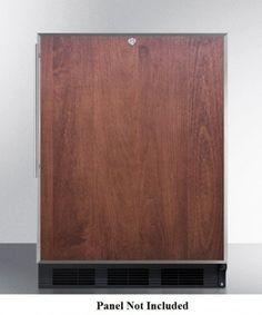 The #Summit AccuCold ALB753LBL All-Refrigerator features 32 inch high ADA compliant unit designed for built-in installation under lower counters but with a finis...