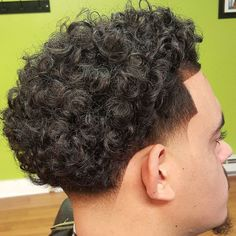 Taper Fade Haircut Curly Hair top 55 New Men S Hairstyles Haircuts 2016 Of Taper Fade Haircut Curly Hair Brilliant 27 Male Taper Haircut Designs Hairstyles Fade Haircut Curly Hair, Taper Fade Curly Hair, Taper Fade Haircut, Tapered Haircut, Curly Hair Cuts, Curly Hair Styles, Curly Afro, Blowout Haircut, Haircut Style