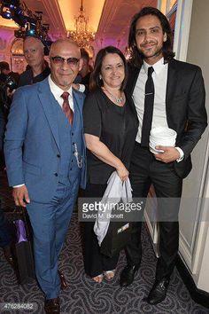 Luke Pasqualino and his parents ❤️