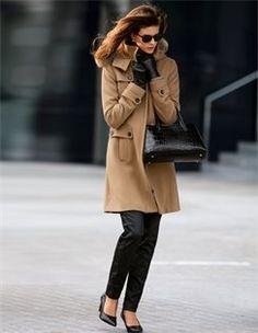 Korte mantel, Jeans