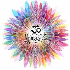 Yoga is for everyone, and there are many ways of doing it. Think you can't do Yoga? Yoga Studio Design, Yoga Inspiration, Meditation Symbols, Chakra Meditation, Namaste Art, Chakra Art, Om Symbol, Yoga Art, Mandala Art