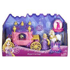 Disney Princess Rapunzel Royal Carriage Playset & Magiclip Doll BNIB ~BDK06 #Mattel