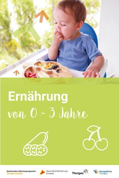 #Ernährung #Grundlagen #Kinder Gerade in den ersten Jahren lernt dein Kind beim Essen viele neue Dinge kennen. Hierbei dreht es sich nicht nur um neue Nahrungsmittel, sondern es muss auch vom Stillen auf Brei- und Festnahrung umstellen. Wann ist für die Umstellung der richtige Zeitpunkt? Kann ich Allergien verhindern? Ab welchem Monat sind welche Nahrungsmittel geeignet? Erfahre mehr über die Ernährung in den ersten drei Lebensjahren. Niklas, Monat, Children, Face, Allergies, Vegetarian Diets, Complete Nutrition, Kids Learning, Young Children