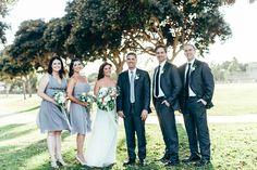 Dreamy-Industrial Loft Wedding: Lindsey + Todd
