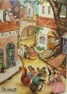 'Holly Pond Hill' illustré par Susan Wheeler