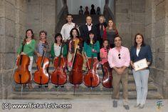 Encuentros Pedagógicos en el VII Festival Luigi Boccherini de Mayo de 2014.