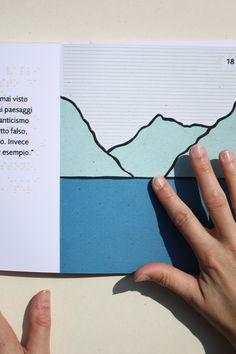 """VIII #LuckyStrike Talented #Designer Award. """"Punti di vista. #Graphic design orientato alla disabilità visiva"""" by Gabriella Sperotto. Two books for blind person: adults and children. Realized with an #innovative print process."""