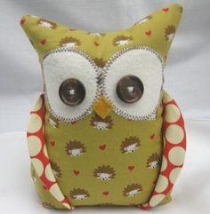 Owl bookend - sooo adorable!