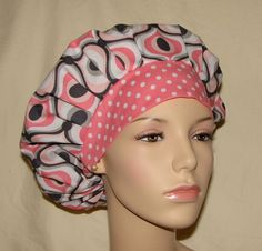 I am always on the lookout for cute fabric to make a new scrub hat for work. 1/2 yard for the cap and 1/4 yard for the brim!